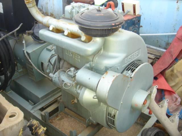Lister diesel engine, 3 cylinders