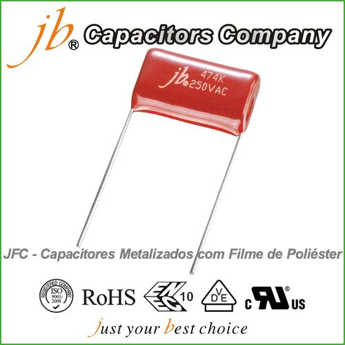 JFC--Metallized Polyester Film Capacitor (VAC)