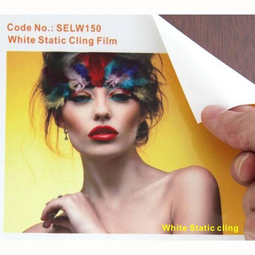 White Static Cling Film