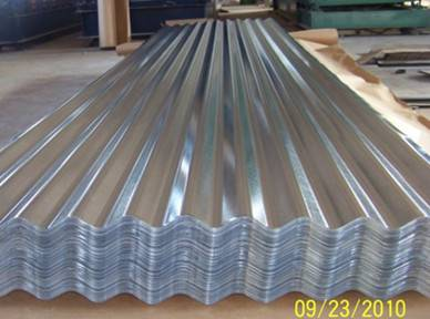 Roofing sheet Corrugated Galvalume /Galvanized Steel Sheets