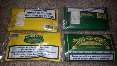 Top Quality Amber Leaf Tobacco Golden Virginia Global