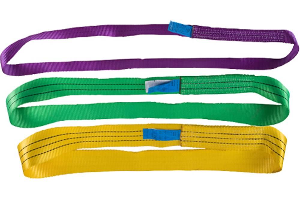 100% Polyester Single Ply Endless Flat Webbing Sling