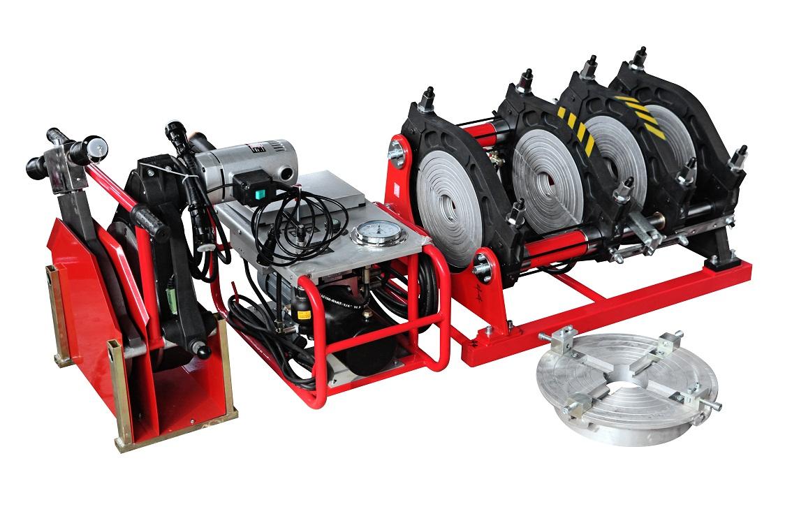 TSD315D hdpe pipe hydraulic butt fusion welding machine