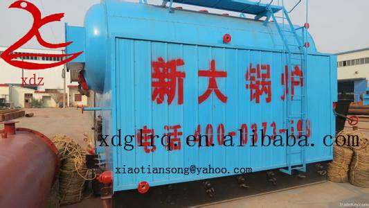 Double Drum Chain-grate Coal-fired Steam Boiler