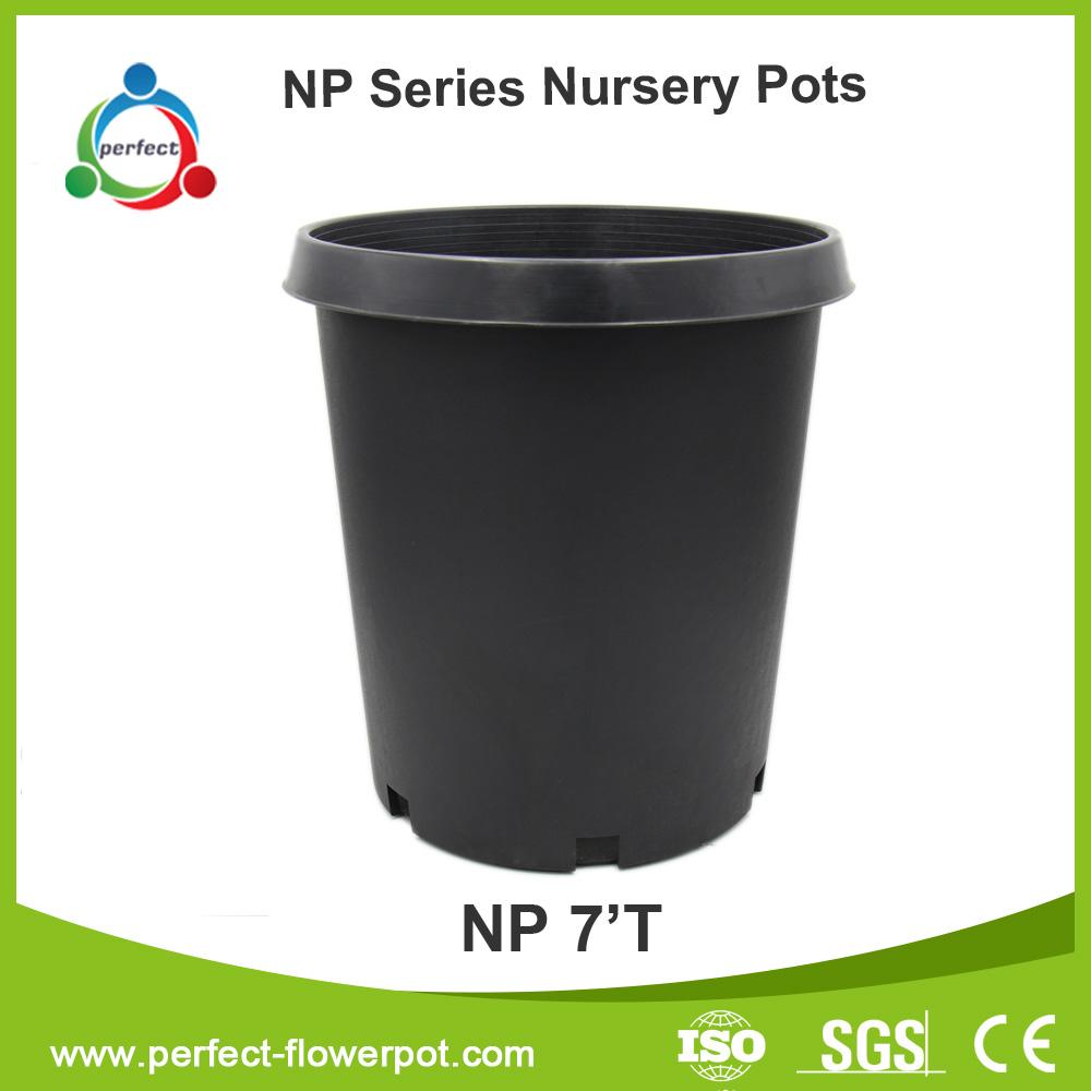 plastic PP nursery pot, nursery flower pots, garden pots