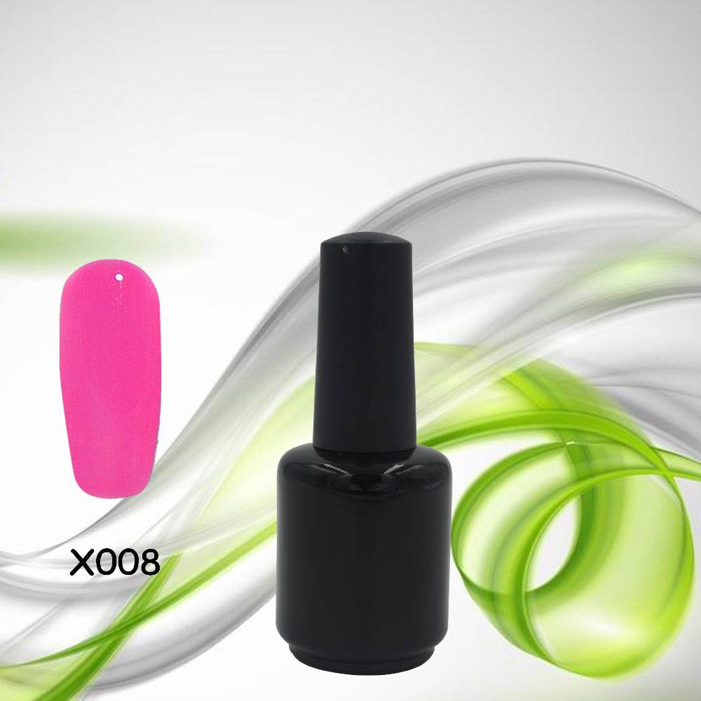 Black Bottle100 Colors Soak Off UV LED Gel Polish