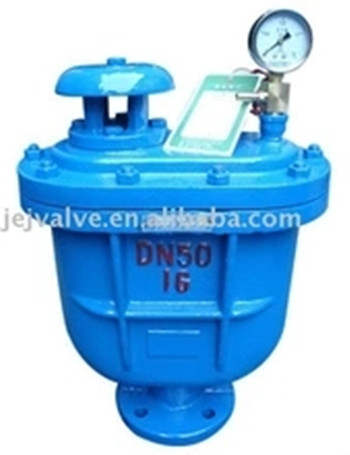 Hydraulic ductile iron combine air vent air release valve