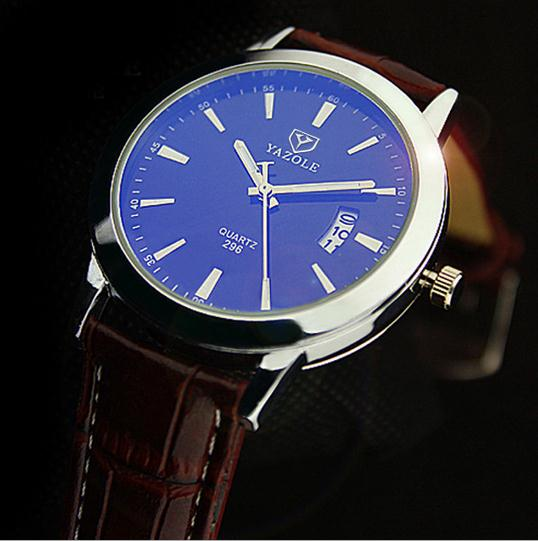 Newest fashion waterproof mens business wrist watches