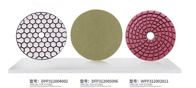 flexible diamond polishing pad
