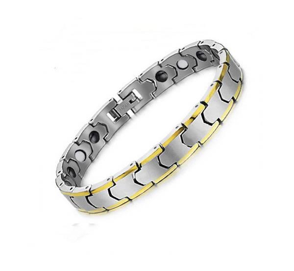 Positive energy bracelets magnet ion wrist bio magnetic bracelet stainless steel bracelet