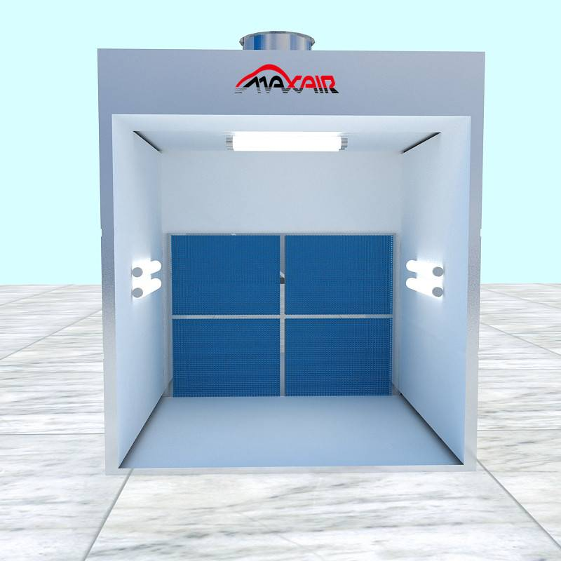 Trade assurance Open Front Industrial Spray Booth