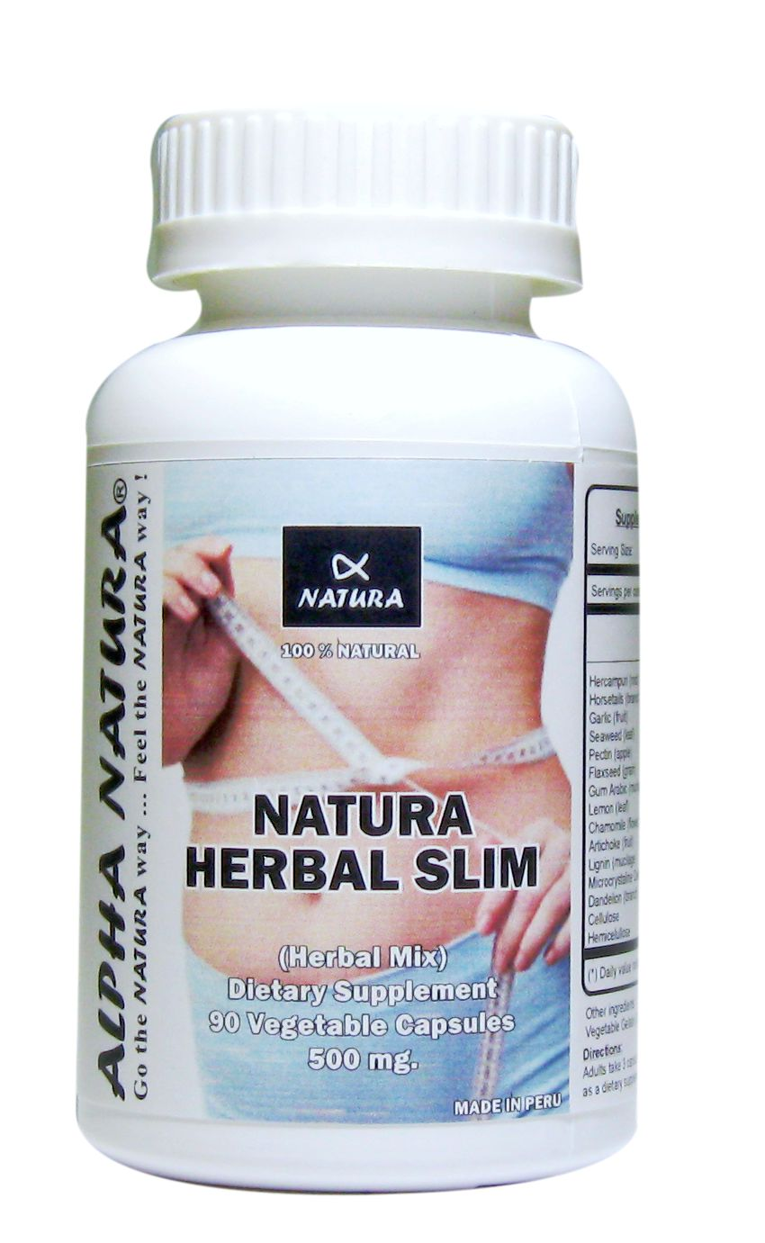 HERBAL SLIM (Supports in Reducing Fats and Cholesterol)