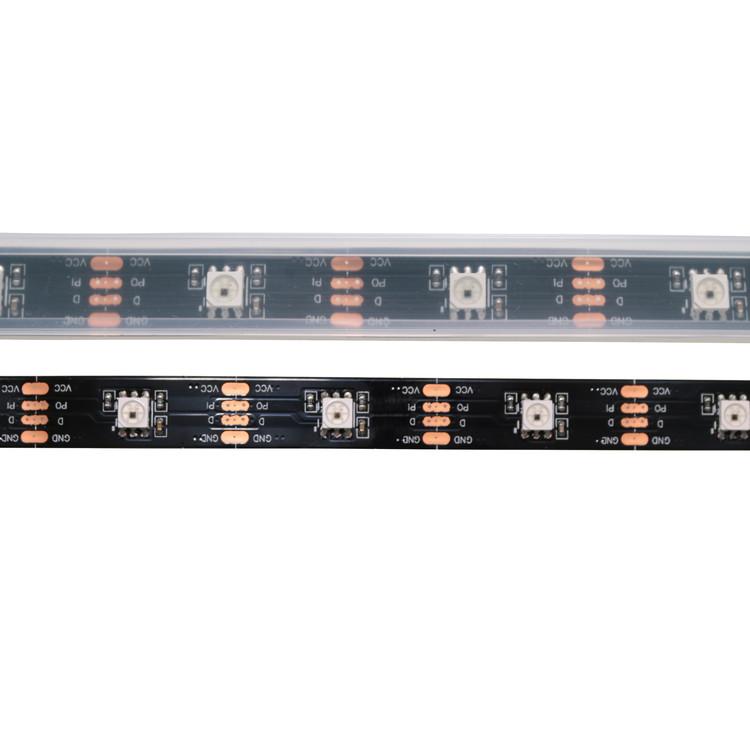 programmable 5050 smd 30 leds DMX controller RGB led strip dmx 512