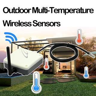 Outdoor Multi-Temperature Wireless Sensors