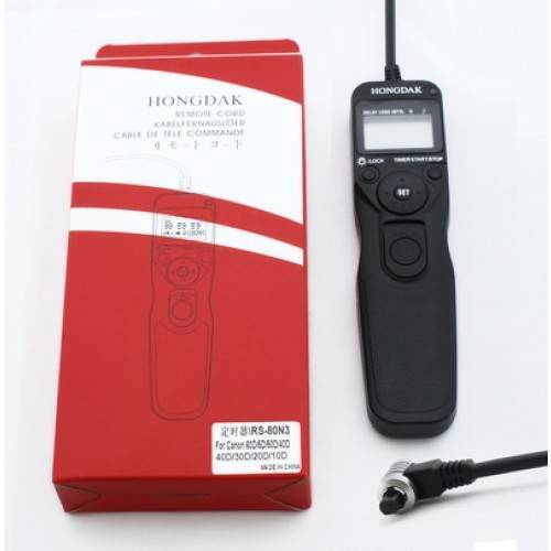 Timer Remote Cord RS-80N3 for Canon EOS 1V