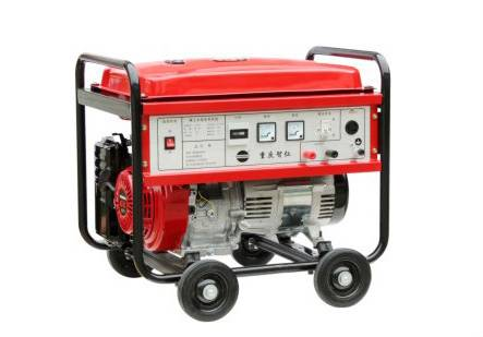 5KW Three Phase Recoil Start Air-cooled Portable Rare earth magnet gasoline genset