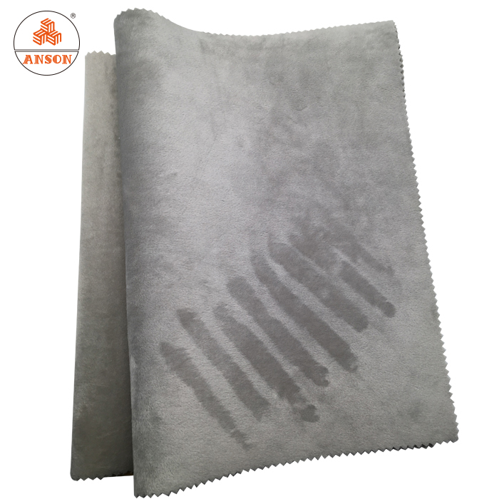 For laptop sleeves 3mm neoprene micro velvet fabrics shock proof