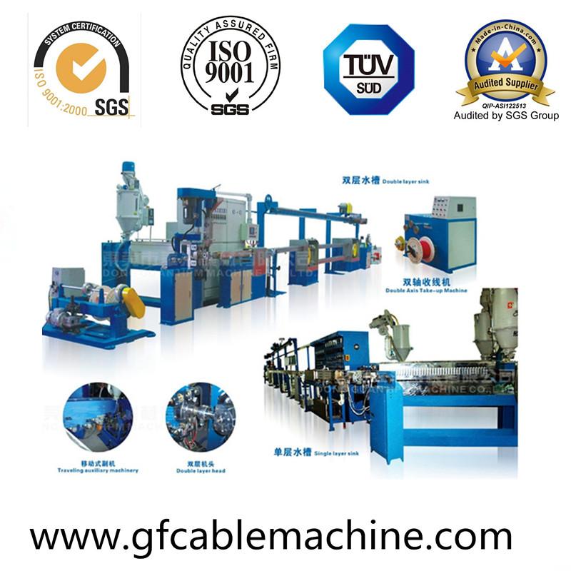 Plastic PVC Cable Extruder Production Line