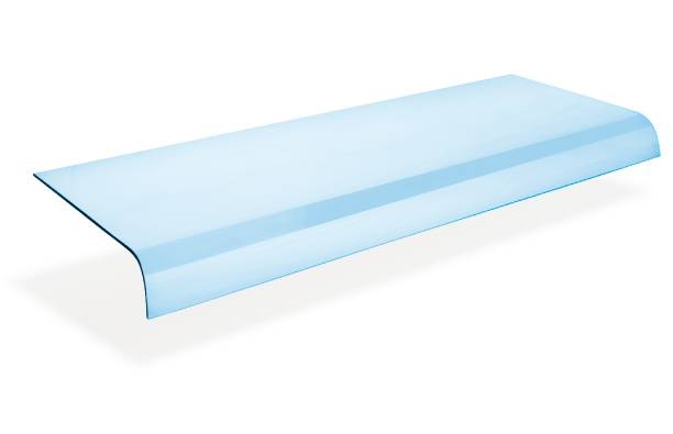 Bent Glass for Refrigerated Dispaly