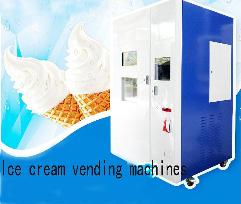 Ice Cream Vending Machines Support Bills Acceptor China Wholesale