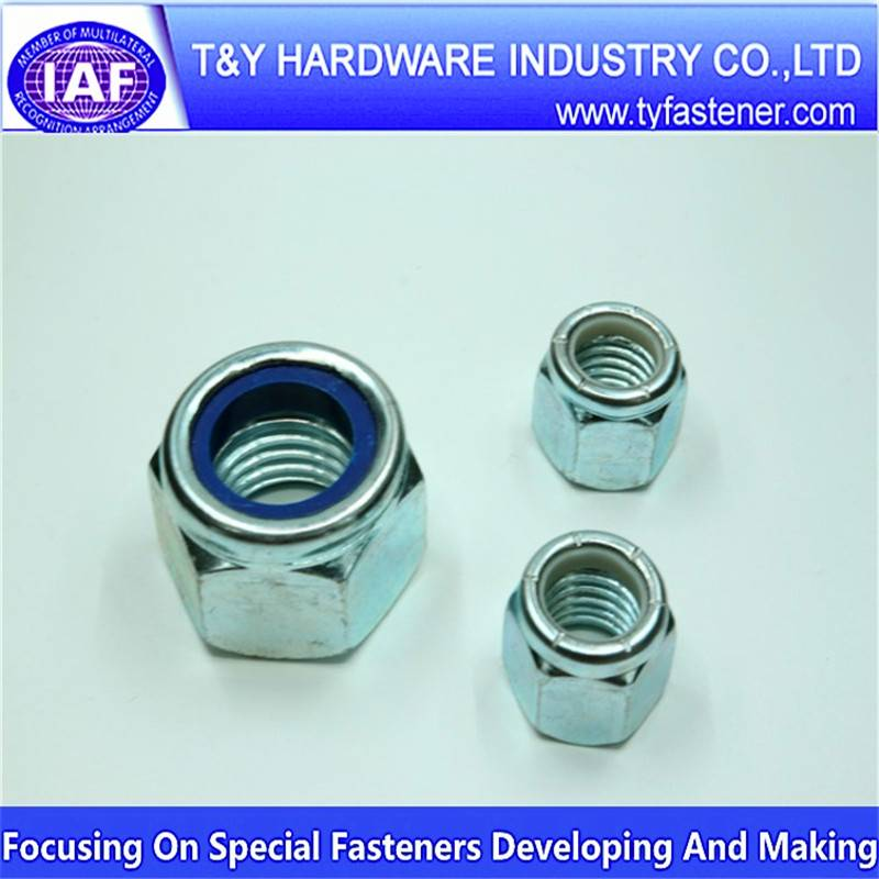 carbon steel nylon insert lock nut