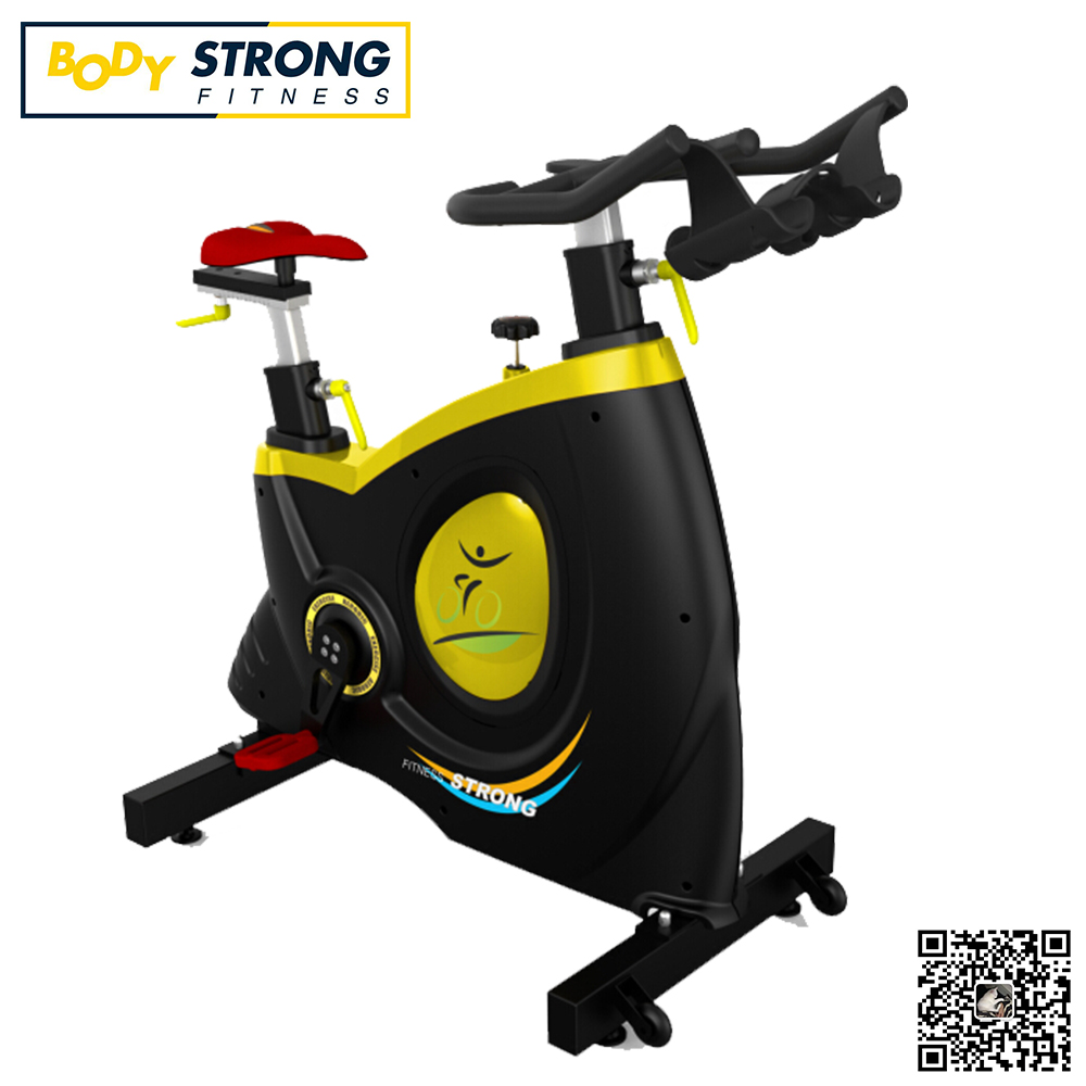 Gym machine sports equipment spinning bike
