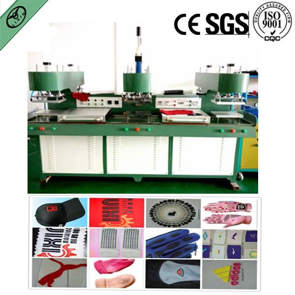 liquid silicone trademark label making machine