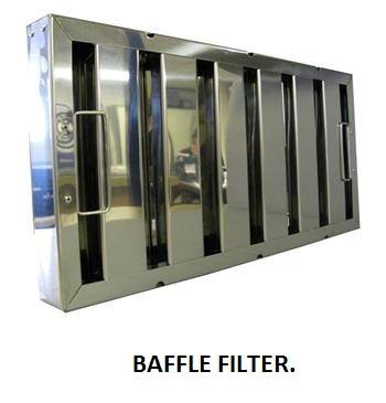 Baffle Filters / Kitchen Hood Filters/ Hood Filters/Grease Stop Filters