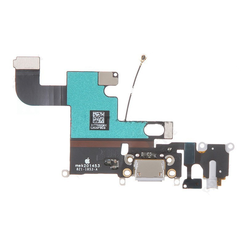 For Apple iPhone 6 Charging Port Flex Cable Ribbon Replacement - White