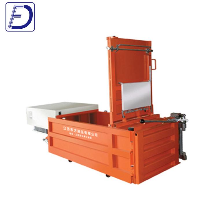 Cheap Price Carton Plastic Cardboard recycling press machine Compactor