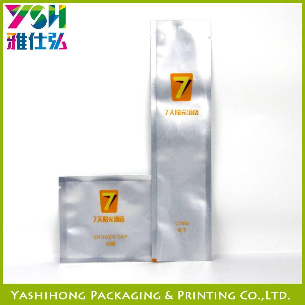 Aluminum foil plastic bag for disposable daily Boy&Hair Demo
