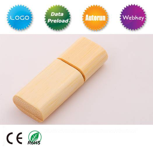 Wooden USB Flash Drive for Promotional Gift