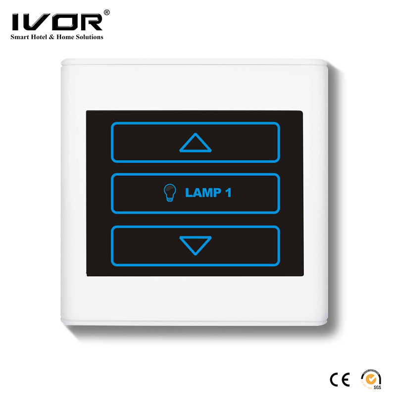 Touch panel electric dimmer switch PC cover plate lighting switch