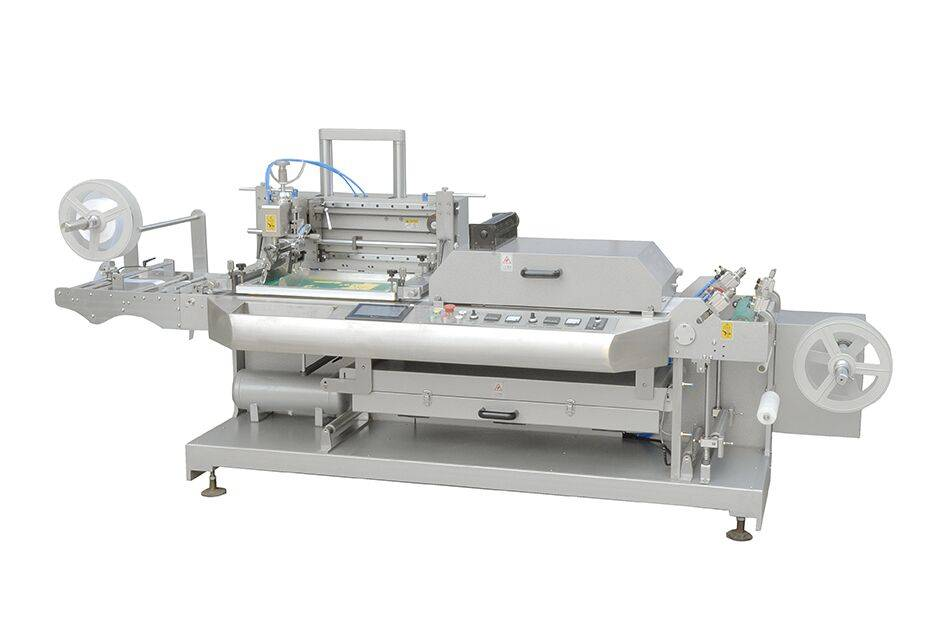 One-color Silk Screen Trademark Printing Machine/Garments Ribbon Label Printing Machine JDZ-1030