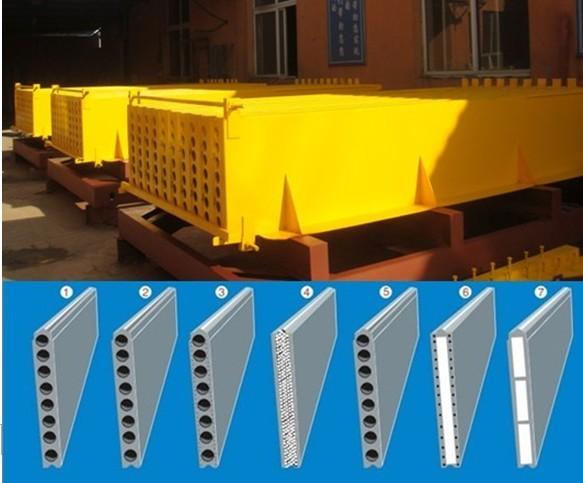 Lightweight Concrete Partition Slab Machine