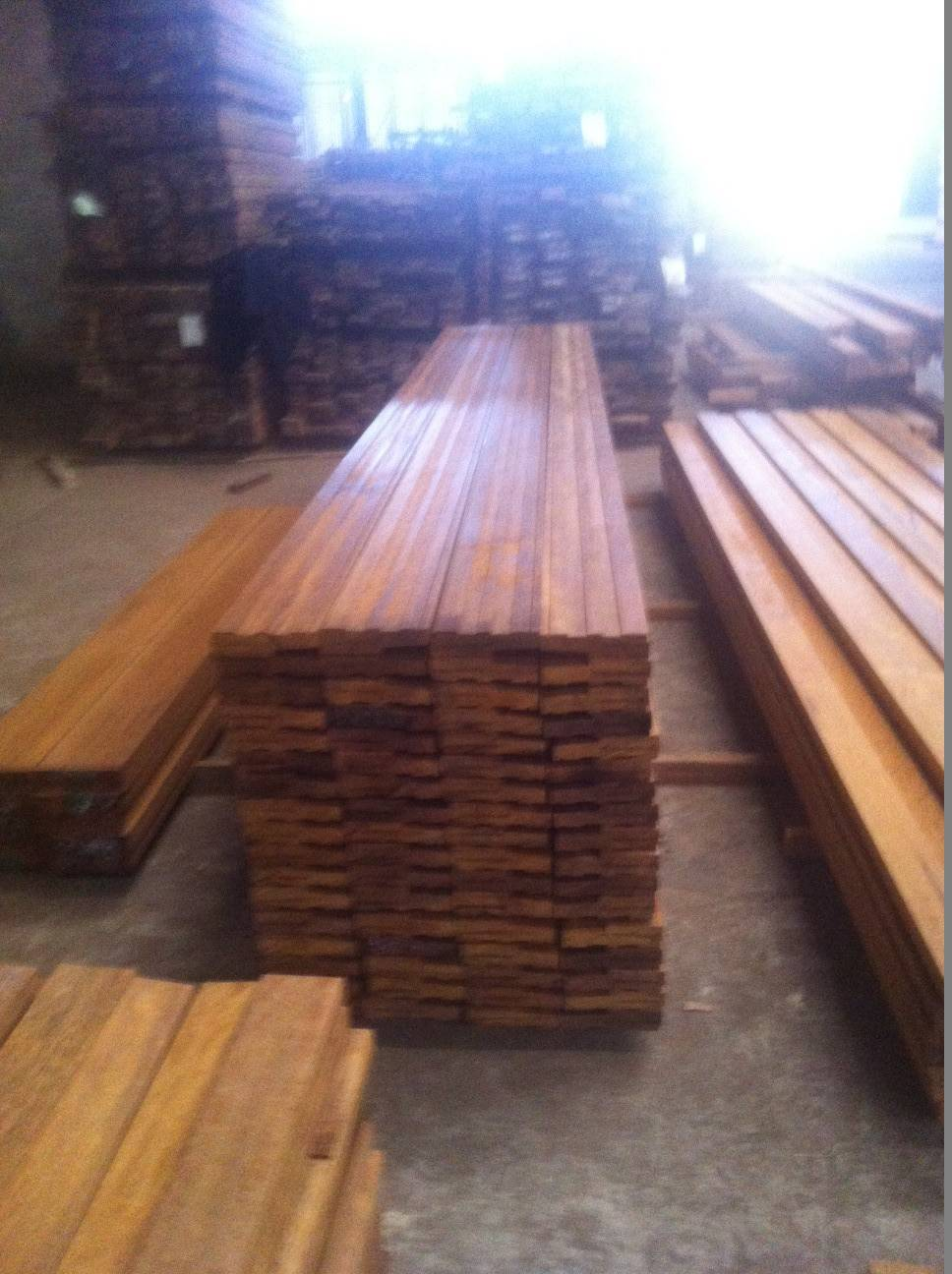 Bangkirai timber