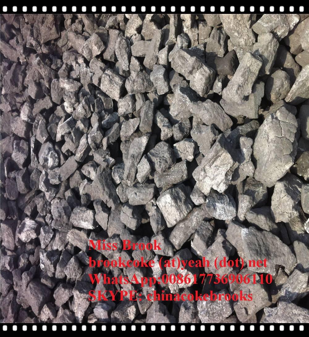 ash 8%max foundry coke 150-300mm 90% min Steel mills