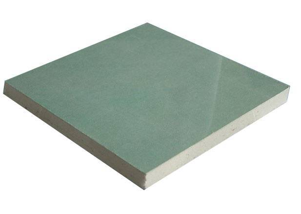 Moistureproof Paper Faced Gypsum Board / Gypsum Plasterboard