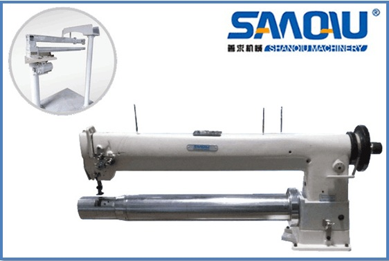 New long-arm tube type two needle sewing machine SQ-4331-D