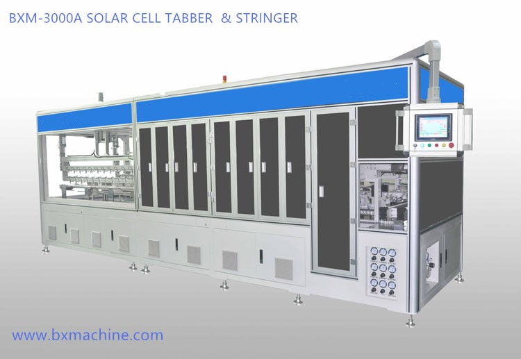 Automatic Solar Cell Tabber & Stringer
