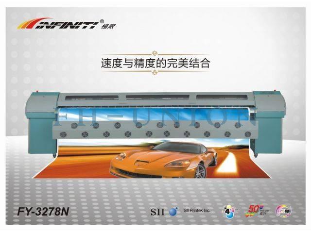 Infiniti Seiko Solvent Printer FY-3278N