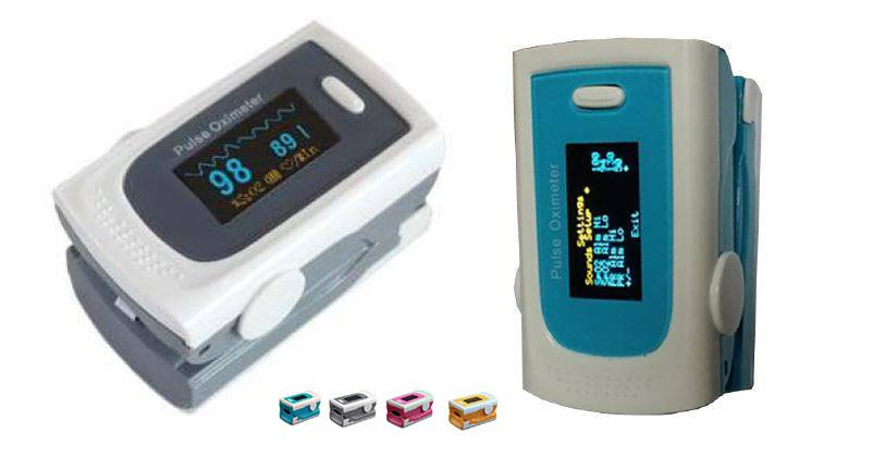 Ce Marked Fingertip Pulse Oximeter with New Mould