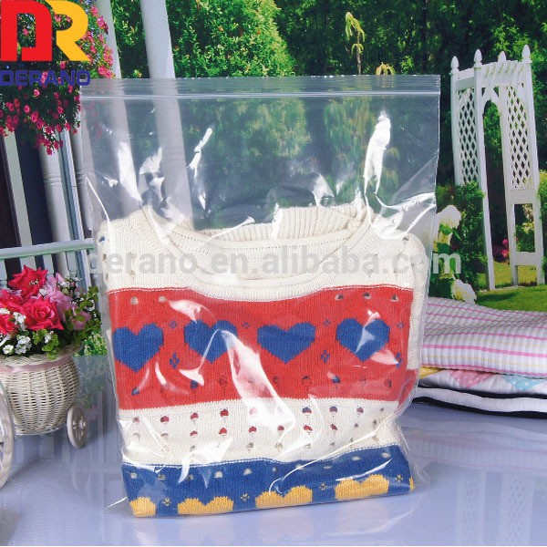manufacture clear ldpe ziplock bag