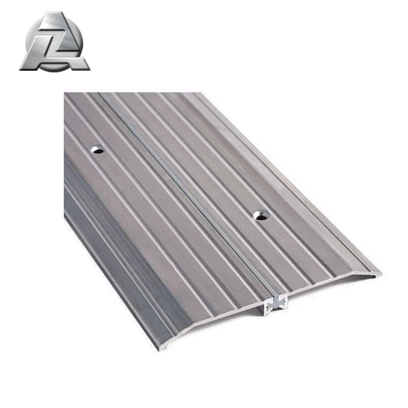 custom 6063 t5 aluminum extruded threshold profile
