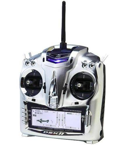 JR DSX11 2.4Ghz DSM2 11ch Transmitter with RD921 Receiver