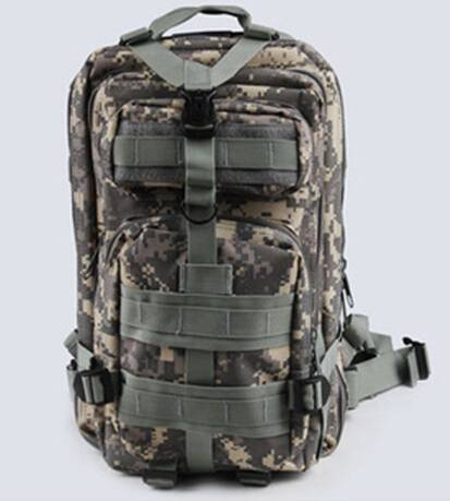600D Sports Outdoor 3P Military Tacticial Backpack Bag