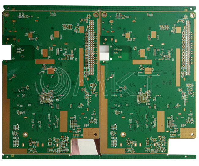 6 Layer PCB with 1.6mm 1oz Thickness