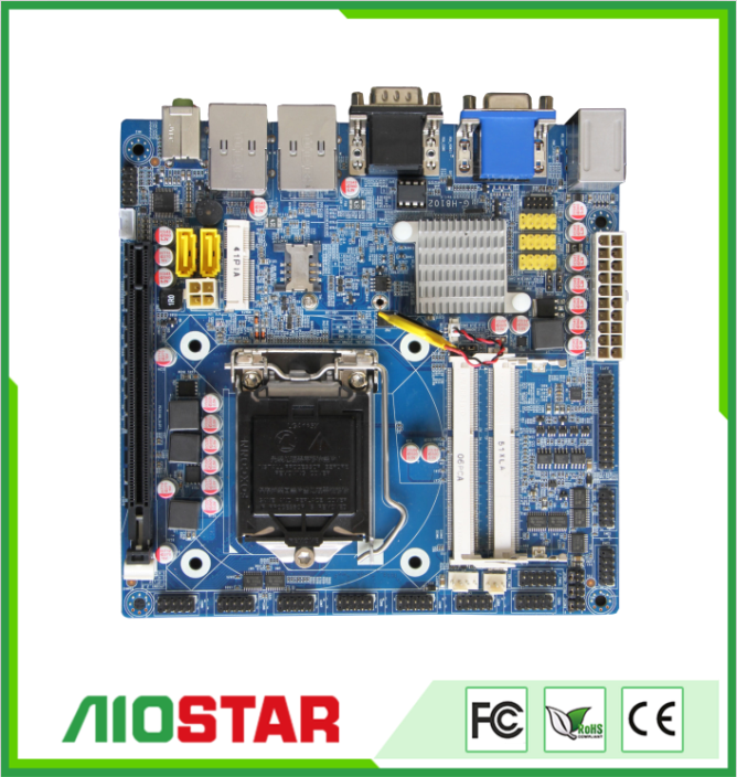 Mini ITX Intel H81 motherboard, industrial Haswell desktop motherboard