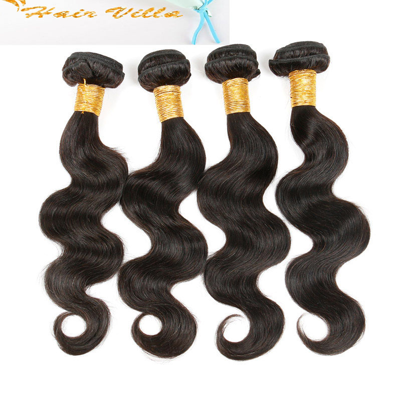 8A Brazilian Body Wave 4 Bundles Human Virgin Hair Weave