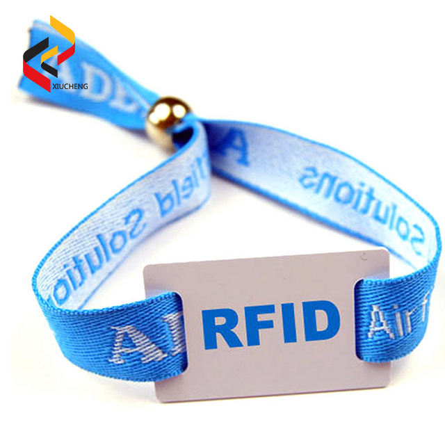 NFC213 Polyester Wristbands